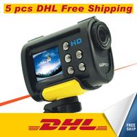 5*pcs DHL Free Shipping S10W Full HD 1080P WiFi sport camera 170 wide angle action video camera helmet Mini Sport DV