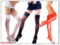 black Sexy silk stockings for women