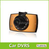 Free Shipping S550A NTK 96650 HD Car DVR Camera Video Recorder with Parking Monitor +G-sensor +6pcs IR Night Vision
