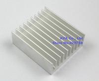 5 Pieces Aluminum 50mm x 45mm x 18mm Heatsink Radiator Router CPU Heat Sinks Cooler