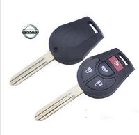 BRAND NEW Replacement Cover Remote Key Shell 3+1B for NISSAN Maxima Altima Sentra Versa Key Case Fob 4B Uncut Key Blade No Logo