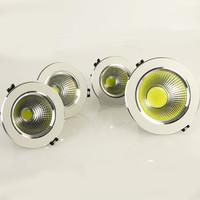 wholesale(5pcs/lot) Super bright AC85-265V  5w/7w/9w/12w LED COB Ceiling Light Cool/Warm White LED Down Light  free shipping