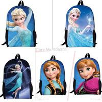HOT Fashion Kids Girls Frozen Queen Elsa Princess Backpacks Rucksack School Shoulder Bags Schoolbags