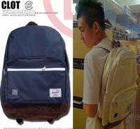Promotion! 2014 boys back to school bags for women famous brand designer harajuku clot herschel canvas students sport backpack