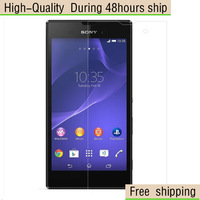 High Quality Clear Screen Protector Film For Sony Xperia T3 Free Shipping DHL UPS EMS HKPAM CPAM
