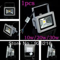 1PCS/LOT led lamp 10w/20w/30w AC85-265 Waterproof High Power LED flood Light energy-saving  Wash Outdoor Lamps free shipping