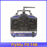 Free shipping!!High Quality FlySky FST4B  2.4G FS-T4B 4CH Radio Model RC Transmitter & Receiver Heli/Airplane