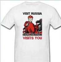 VISIT RUSSIA BEFORE PUTIN VISITS YOU-Wladimir Wladimirowitsch - T Shirt custom Men's Design t shirts