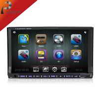 Universal 2 Din autoradio  Flip down headrest car dvd player,car styling with GPS+Radio+Bluetooth,Steering Wheel Car Audio