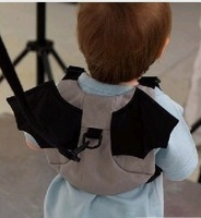 New Best Very Cute Bat Animal Wings Shape Anti Lost Belt Design Baby Bags Kids First Walkers Fashion Backpack