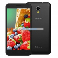 Free Shipping 5inch ips  ZOPO ZP320 support 4G LTE Mobile Phone  MTK6582 quad core 1+8 android 4.4 camera 2mp 8mp smartphone