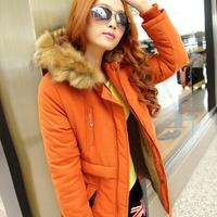 New Winter Women's Lady Casual coat Faux Fur Fleece Lined Jacket Military Parka Coat Anorak Overcoat