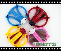 Cute for kids passive real d 3d glasses for LG, Vizio, Hisense, xpand, reald, depthq, benq, etc