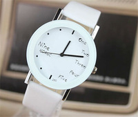 New English Letters Children Watch Popular Korean Pop Men And Women Students Watch Fashion Couples