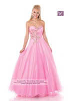 2011 New Sweet Princess Floor Length abendkleider Prom robe de soiree 2014 Dresses vestido de festa longo