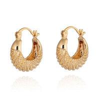 Sweet Fashion Gold Silver Brief OL Women Earring Stud Earring All Match