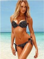 Ms. Victoria's Se Swimsuit Polka Dot Bikini Sexy hot spot in Europe and America