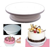 "Transport Tools free Shipping-rotating Revolving Cake Pro 11"" Sugarcraft Turntable Decorating Stand Platform Kitchen Accessories"
