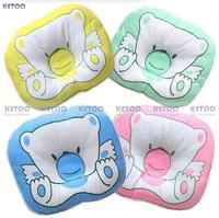 1pcs 100% Cotton kid Baby infant neck pillow Side Sleeper Pro Pillow Cotton four colors