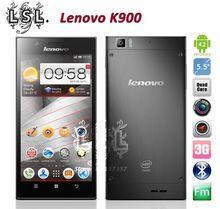 New Original Lenovo K900 phone Russian polish smartphone dual core 2GHZ 16GB /32GB Intel z2580 CPU 5.5 inch 1080P FHD Screen(China (Mainland))