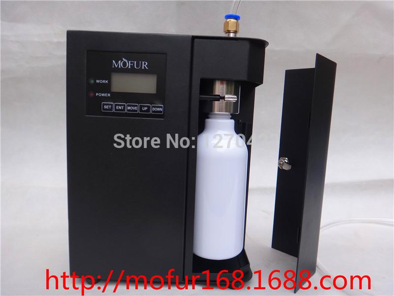 sistema -1 ambientador nebulizador purificador de ar 300m3 máquina aroma LcD cartucho de 300ml exibição do hotel fragrância ano de garantia(China (Mainland))