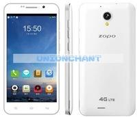 Original ZOPO ZP320 320 4G LTE Mobile Phone Quad Core MTK6582M 1.3GHz 5.0 inch 960X540 IPS Screen 1GB RAM 8GB ROM 2300MAH
