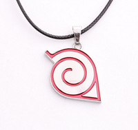 Free Shipping Anime Naruto Necklace Cosplay metal Pendants nk3