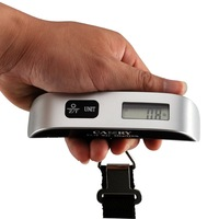 Arrival Electronic Digital luggage Weighing Scale Portable Hanging Scale with Hook Strap New Free Shipping