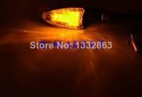 New 2pcs 12 LED Universal Motorcycle Light Motorbike Motor Corner Turn Signal Indicators Lights12V Amber yellow TK0126 3A