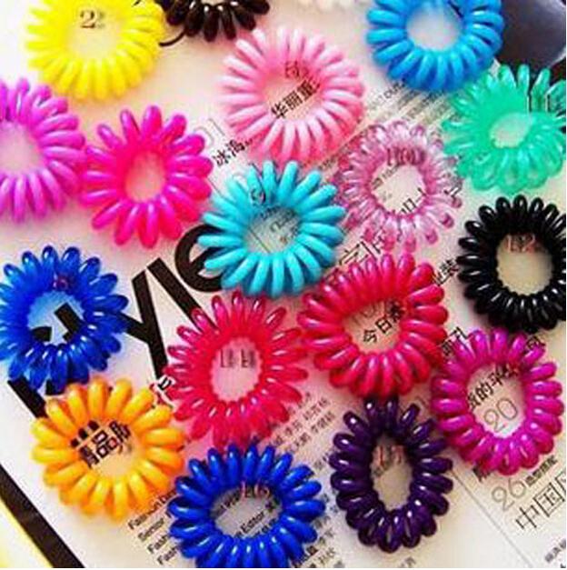 South Korea Telephone Multi-purpose Circle Ladies Hair Rope Beauty Hair Band gms-167(China (Mainland))