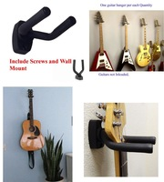 Guitar stand Hanger Hook Holder Wall Mount Display instrument W WALL ANCHOR GRAK1
