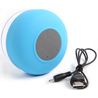 Mini HIFI Waterproof Wireless Bluetooth Handsfree Mic Suction Speaker Shower Car  Free Shipping #L0192463