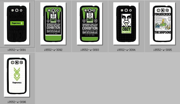 Чехол для для мобильных телефонов Pc Samsung i8552 8552 Fingercroxx For Samsung Galaxy Win i8552 8552