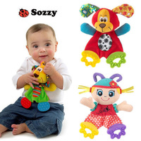 Baby Infant Preferred Soft Appease Towel Toys Calm Doll Teether Developmental