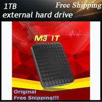 High speed  External hard drive storage 1TB Desktop and Laptop mobile hard disk genuine USB3.0 Free shipping