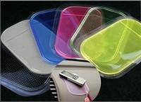 (10pcs/lot) Powerful Silica Gel Magic Sticky Car Grip Pad Non Slip pad Sticky Mat Anti Slide Dash Cell Phone Holder #304t