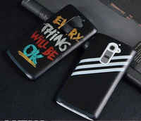 Case for LG Optimus G2 D802 fashion leather texture cartoon colour decoration mobile phone protective shell cover free shipping