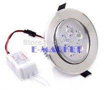 5W AC85-265V LED Recessed Cabinet Ceiling Lamp Ceiling Downlight Down Light For Home Decor Cold White SV003014 3A(China (Mainland))