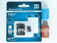100% Original SD card 16G 32GB 64G Micro memory SD card forFree TF Card Adapter + Gift Card Reader + Free shipping