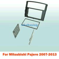 2 Din Frame Kit / carro fascia / Car Fascia Panel / Audio Panel Frame / Dash Kit For Mitsubishi Pajero 2007-2013 Free Shipping