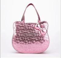 2014 Hot Sale ! Hello Kitty Handbag/Kids Cartoon Handbag/ girl's pricness totes bags retail or whole sale