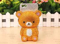 Hot Sale 2014 New Arrival Fashion 3D Bling Bling Diamond  Phone Case Diamond Mobile Phone Case