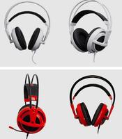 New SteelSeries Siberia V2 Full-Size studio headphone ,hot Stereo Gaming Headsets