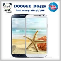 free ship Doogee DG300 5.0'' screen 512mb ram 4gb rom dual core mtk6572 dusl sim