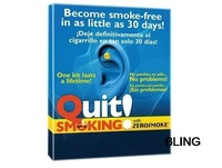 1sets/lot Stop Smoking Magnet Pad Patch Health Care Ear Retail Pkg Free CN Post Shipping Wholesale As Seen On TV Only $3.59