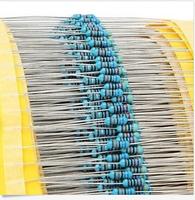 2100pcs 21 value 1/4W Metal Film Resistors 5% 1R~1MR D