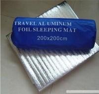 Free shipping+2014 hot selling+Outdoors / aluminum moisture pad / tent moisture pad / mat 150 * 200/200 * 200