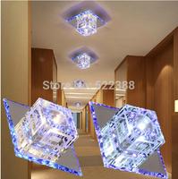 3w bedroom Crystal ceiling light abajur lustres de sala luminaria led lamp for home modern living room spotlights aisle lights