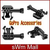 2014 New Camera Quick Release Tripod Mount Adapter Buckle Bracket Screw for Gopro HD Hero 3+/3/2/1 ST-07 Accessories