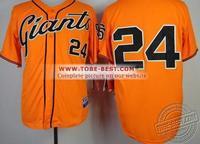 2014 Rushed New Arrival Freeshipping Fashion Baseball Jerseys San Francisco Giants #24 Willie Mays Throwback Baseball Jerseys